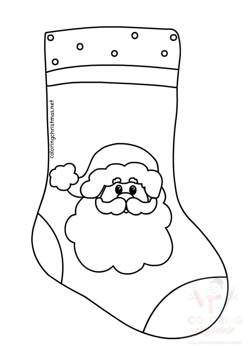 Christmas Stockings Santa Claus clipart