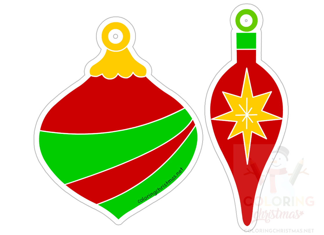 Christmas Tree Gift Tag printable